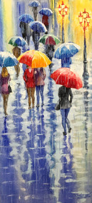 """After the Rain"" by Stanislav Sidorov 12x24"