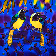 'Love Birds' by Yelena Sidorova 20x20