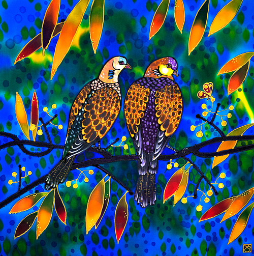"""Amiable Pair"" by Yelena Sidorova 20x20"