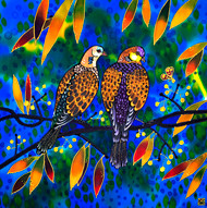 'Amiable Pair' by Yelena Sidorova 20x20