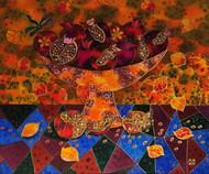 """""""Still Life With Pomegranates"""" by Yelena Sidorova 20x24"""