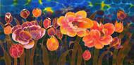"""Tender Flowers"" by Yelena Sidorova 40x20"