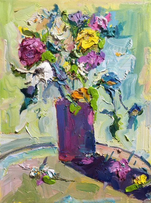 """""""Blooms"""" by Dawn Normali 11x14"""
