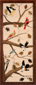 """""""Birds of a Feather"""" by Jeff Nelson, 18x40"""""""