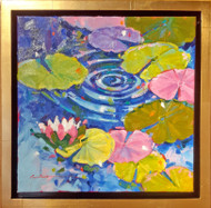 'Water Notes' by Coni Grant. 12x12 inches