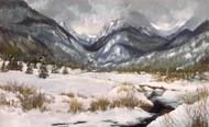 'RMNP, Moraine Park Snow' by Lyse Dzija 26x16