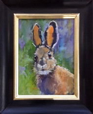 'Wabbit' by Coni Grant,  Oil on canvas, 12x16