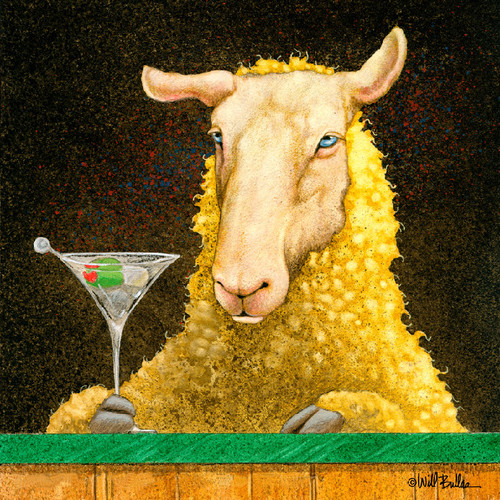 """""""Sheep-faced"""" Metal Print by Will Bullas"""