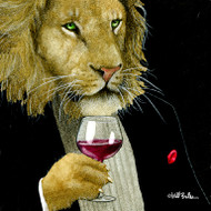 """Wine King"" Metal Print by Will Bullas"