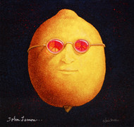 """John Lemon"" Metal Print by Will Bullas"