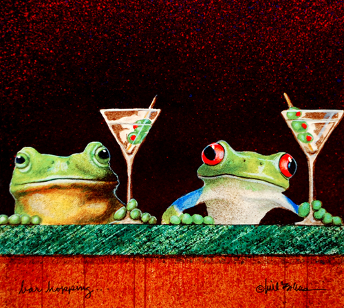 """Bar Hopping""  by Will Bullas"