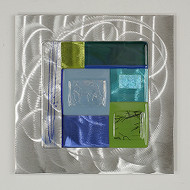 """Wall Square in Water"" by Hands On Glass"