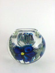 """""""Medium Clematis Cup in Blue"""" by David Lotton"""