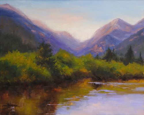 """Fall River Brush"" by Terri Sanchez  16x20"