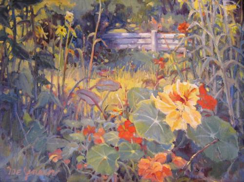 """""""Farm Flowers"""" by Margaret Jensen 11x14"""
