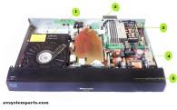 Panasonic SA-BT228 Parts RJBX0661AA,RJBX0662AA,VXY2079