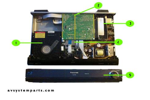 Panasonic SA-BT300 Parts