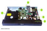 Panasonic Sa-PT480 Parts