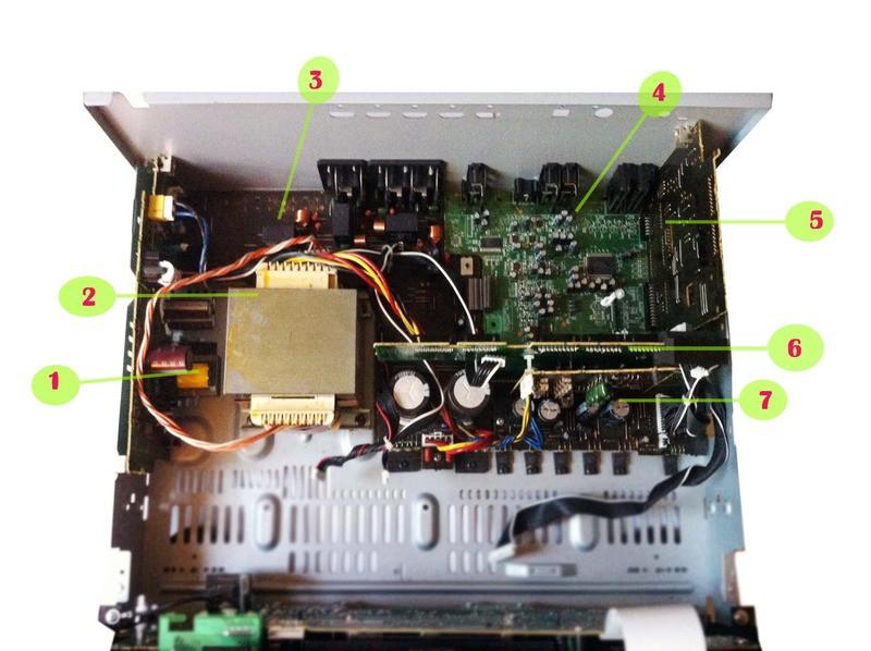 DENON AVR-591 3D BD AMP 5 1 Channel  7020-06941-000-0S,7020-06942-201-1S,7028-06943-401-1,7028-06945-101-0,7028-06943-301-1  Parts