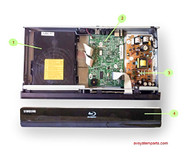 Samsung BD-P1600 parts