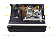 Samsung DVD-V9800 parts
