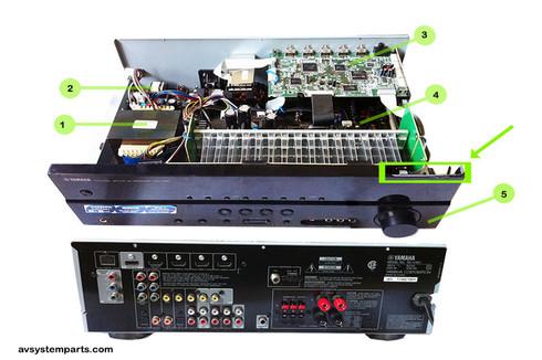 YAMAHA RX-V367 parts