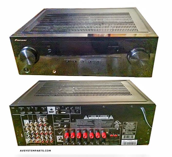 Pioneer VSX 921KVSX 921 K 71 Channel 3D Ready 4 In HDMi 550W AV