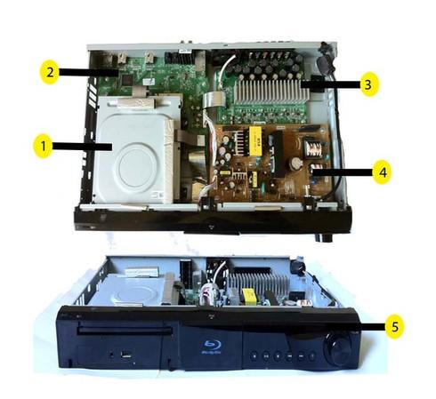 LG LHB335 parts