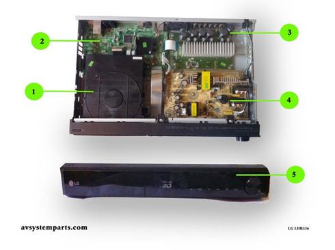 LG LHB336 parts