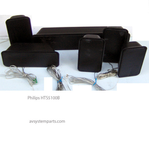 Philips HTS5100 Speakers