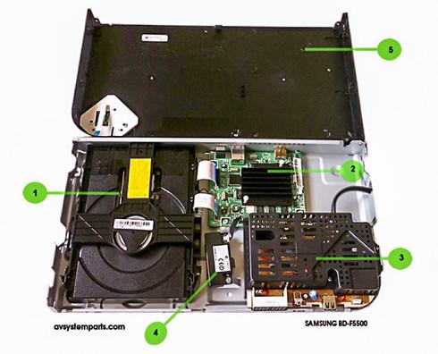 Samsung BD-F5500 Parts