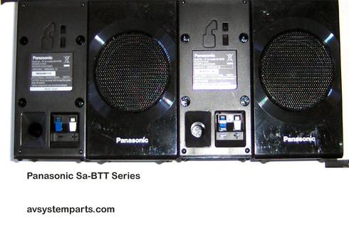 Panasonic Sa-BTT Speakers SB-HF190,SB-HS-190