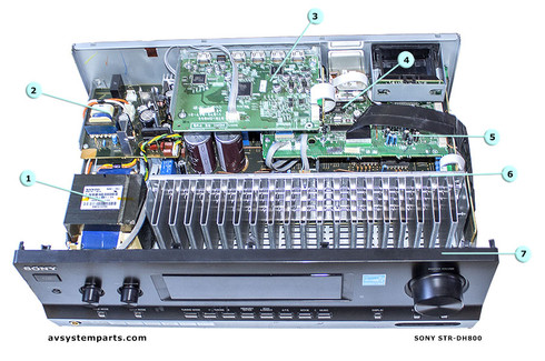 Sony STR-DH800 Parts
