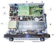 Pioneer VSX-33 Parts