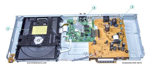 Panasonic DMP-BD75 Parts
