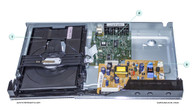 Samsung DVD-C500 Parts