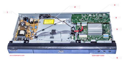 Sony BDP-S350 PARTS