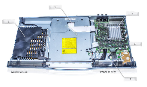 Samsung BD-D6500 Parts