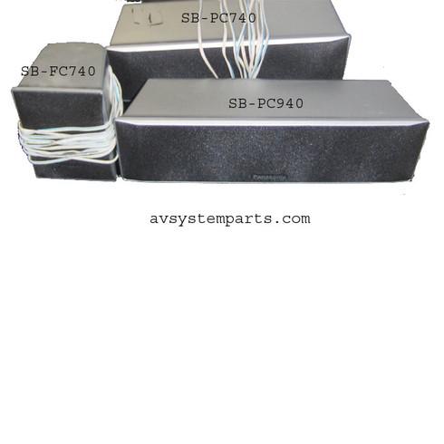 Panasonic SB-PC740 Speakers