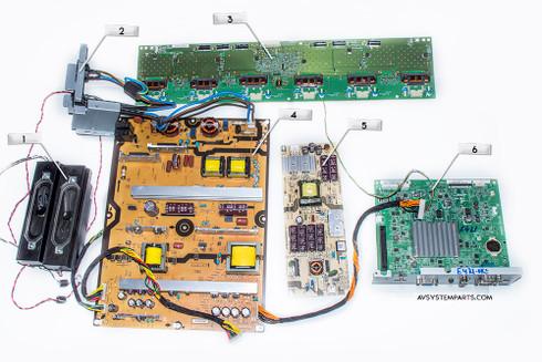TV Sharp PN-E402 Parts