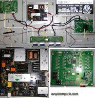 TV Seiki SE50UY04 Parts
