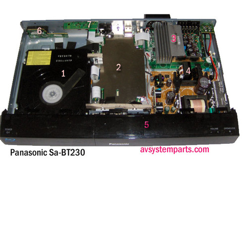 Panasonic SA-BT230 parts