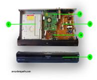 Panasonic DMR-EZ27 Parts