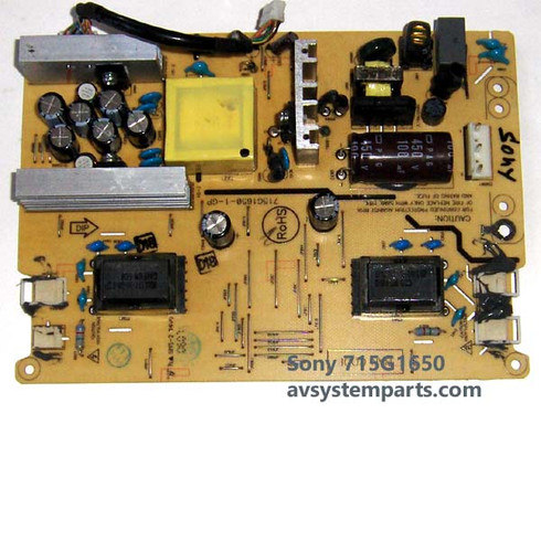 Sony 715G1650 Power supply