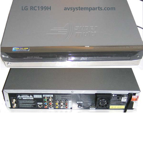 LG RC199H DVD /VCR Player