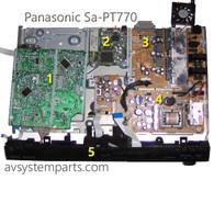 Panasonic SA-PT770 , SA-PT670 Parts