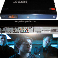 LG BX585 3D Wifi Network Blu Ray Player