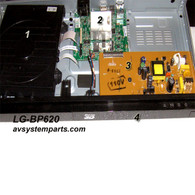 LG BD620 Player parts:EAZ61521701,AAX73647952,EAX64681601,FRONT COVER
