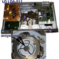LG LDA-511 Parts:6871r-2371b,6870r9932hb,6870r9770hc,DVD Loader