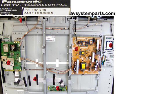 TV Panasonic TC-L42U30 Parts